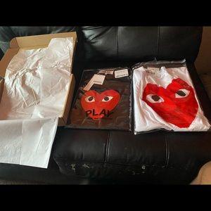 COMME des GARCONS T shirts brand new
